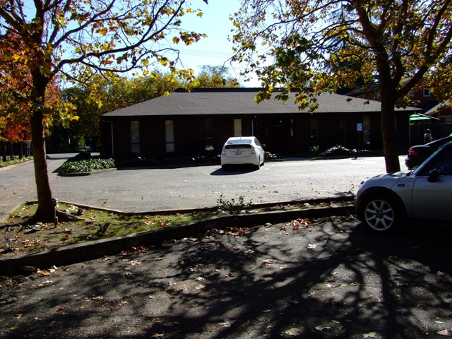 View of my Cotati office from the rear parking lots